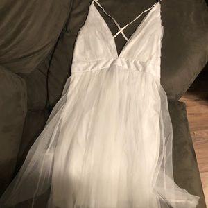 NWT Fashion Nova White Dress Size S